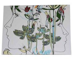 Marimekko Iso Satakieli Canvas.