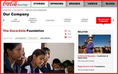 Coca Cola Foundation.