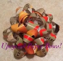 Homemade Mamas: Upcycled Paper Bows!