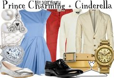 Prince Charming and Cinderella from Cinderella