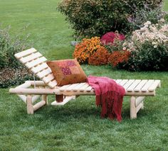 Lounge Chair Rustic Cedar. Now this is cabin ready!
