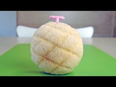 Strawberry Flavored Melon Bread Tutorial by MosoGourmet on YouTube