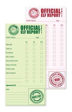 Elf on the Shelf Progress Report