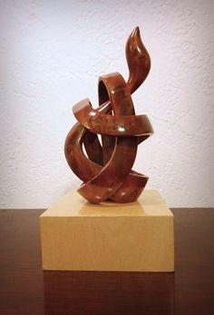 Amazing wood sculpture on etsy.com
