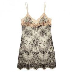Jenny Packham's beautiful lace slip at Journelle
