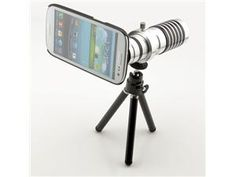 14X Aluminum Optical Zoom Focus Lens HD Telephoto Lens For Samsung S3 i9300 Now of they only made one for the iphone
