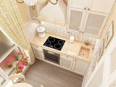 Интерьеры кухонь в хрущевках