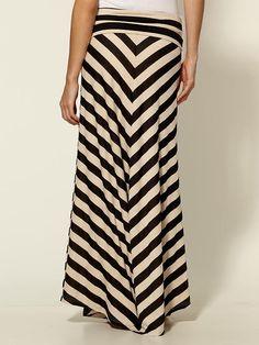 stripe maxi, knit maxi, chevron stripe, maxi skirts