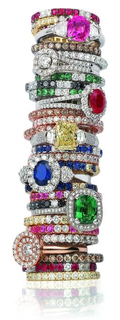 colorful stack