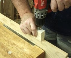 Drill Holes Straight & Square - Popular Woodworking Magazine