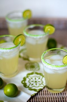 agave margaritas  •2 ounces silver tequila   •1 ounce fresh lime juice   •1 ounce light agave nectar