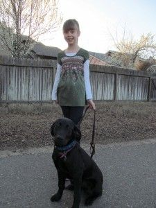 Follow the adventures of Kimber (service dog in training for a disabled child) at: http://pawsitivesolutions.org/service-dogs-in-training/kimber-service-dog-in-training/
