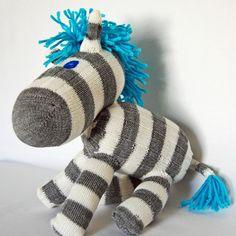 sock zebra - yes!