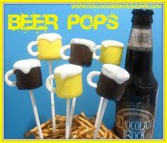 Beer pops for poker