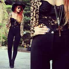 lace, cheetah, fashion, style, fall outfits, leopards, animal prints, leopard prints, dark paradise
