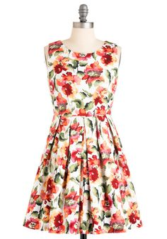 Demure and Simple Dress, #ModCloth