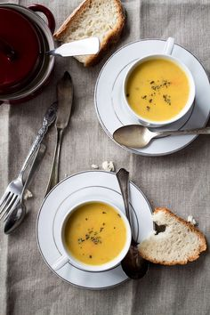 Parsnip and Potato Soup - Love me some parsnips!!!!!!!