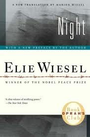 The incredible story of Elie Wiesel, Holocaust survivor. I highly recommend this book.