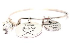 Baton Twirler Two Expandable  Cuff  Bracelets with by CorsoStudio, $16.00