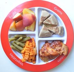 Healthy meal for kids