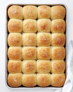 Parker House Rolls #recipe