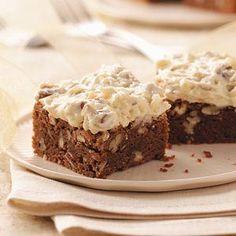Coconut-Pecan Brownies Recipe from Taste of Home