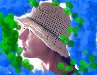 Fast & Easy Summer Brimmed Hat free crochet pattern