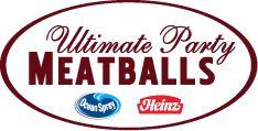 Ultimate Party Meatballs Recipe - Ocean Spray and Heinz
