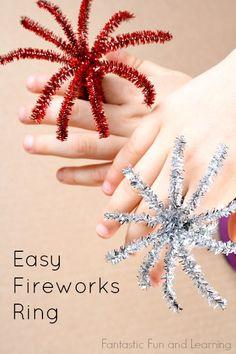 Easy Fireworks Ring