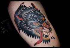 wolf tattoo @Ryan Borges