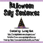 Print, Laminate, and find a place to store these fun silly sentences. Students pick one card from each container/bag. Then they write their silly...