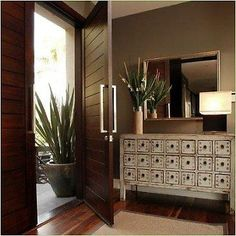 decor, mirrors, foyers, the doors, entryways, front doors, drawers, entrance, wood doors