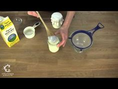 How to make dairy kefir - video