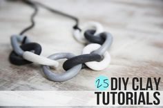 25 DIY Clay Tutorials [Henry Happened]