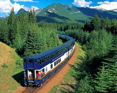 Canada by train. Bucket list.