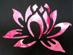 FLOWER APPLIQUE EMBROIDERY - EMBROIDERY FREE PATTERN