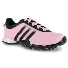 Pink golf shoes!!