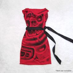 Red Sea Monster Tunic Dress by Beyond Buckskin Boutique