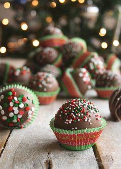 Chocolate Peanut Butter Cake Balls