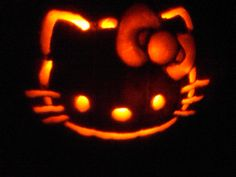 My Hello Kitty Pumpkin