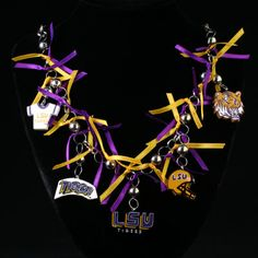 LSU Gameday Necklace