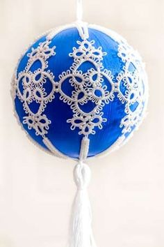 Tatted Ornament. free pattern