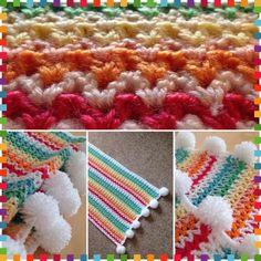 rinabow #crochet vstitch blanket by x_shelbelle_x - 100+ Inspiring Crochet Photos