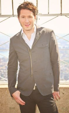 Adam Young... styling and smoldering. I can't handle it ;)