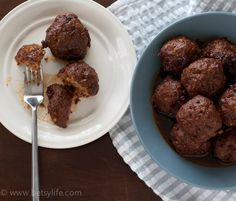 Cherry Cola Chipotle Meatballs Recipe