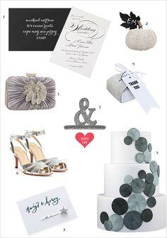 # silver wedding # wedding ideas # glitter weddings # winter weddings