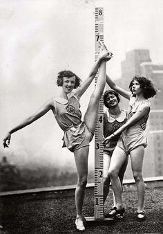 Ballet training in New York, 1931