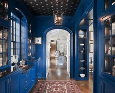 A Starry Night butler's pantry