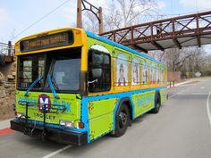 Park your car! The Forest Park Trolley shuttles visitors between attractions in the park.