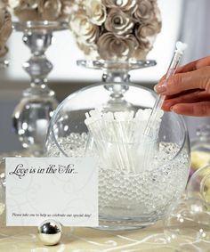 Wedding Bubble Wands